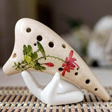 Ceramic Hand Decor Stand For Moon Lamp White