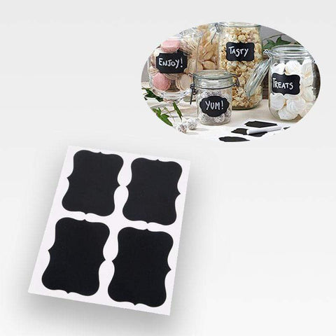 Reusable Chalkboard Sticker Labels (36 Pcs)