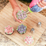BakeAid™ Original Flower Russian Icing Piping Tip Sets