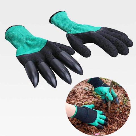Claws Gardening Gloves Green