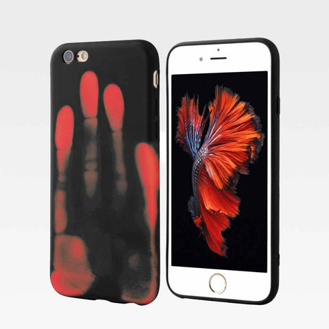 SensiCase ™ Heat Sensitive iPhone Case Red / iPhone 6/6s