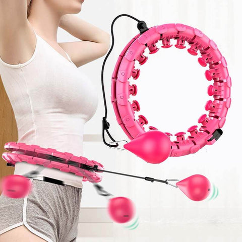 HappyHoops™ Smart Weighted Adjustable Hula Hoop (Now Available In Smart & Ultimate Editions)) Massager Edition