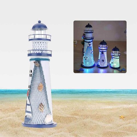 Oceanica LED Lighthouse Lantern Nightlight Large