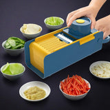 VeggiMagic™ All-In-One Cutter Chopper Slicer & Grater With Enhanced Safe Hand Guard (With Free Peeler Gift)