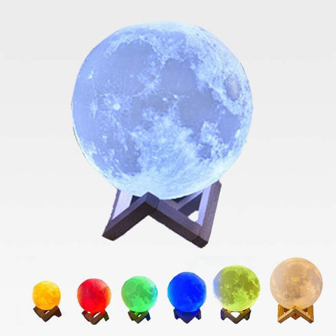 Multi-Color Moon Lamp 12 CM / 4.7 INCH