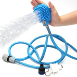 CleanPaw™ 2-In-1 Pet Shower Massager Bathing Tool Blue