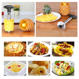 Novel Pineapple Slicer and Corer metal