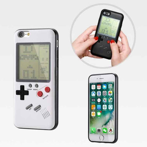 CaseConsole™ Playable Retro Gameboy iPhone Case White / iPhone 6 / iPhone 6s