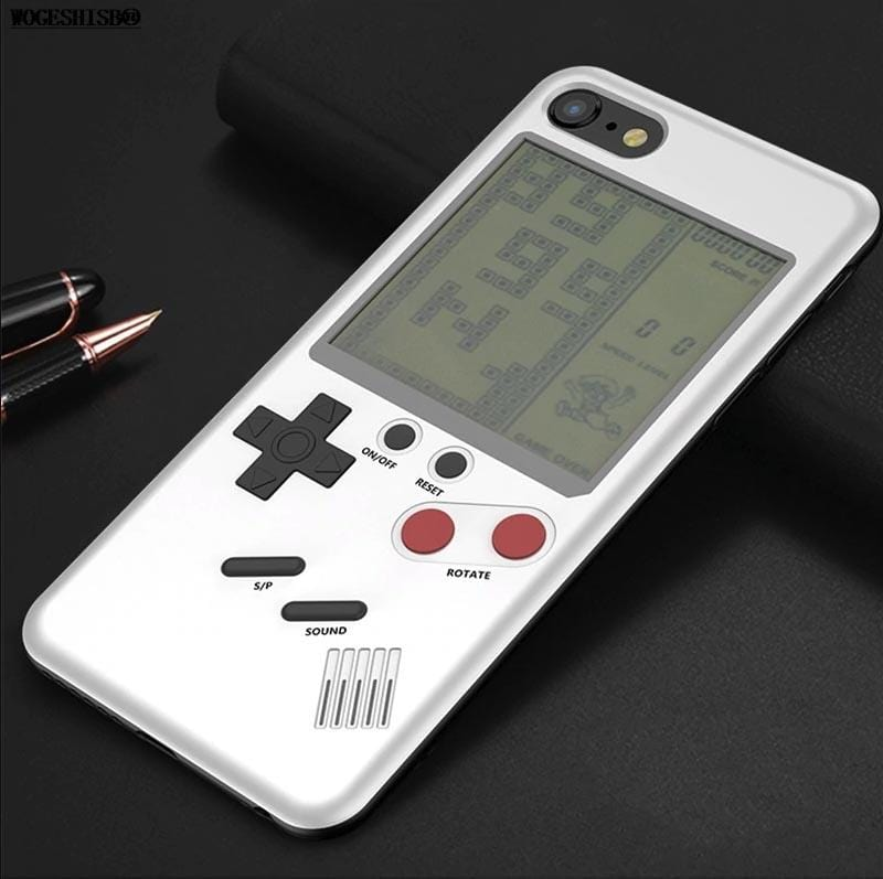 meet 0db8c adf6a CaseConsole™ Playable Retro Gameboy iPhone Case