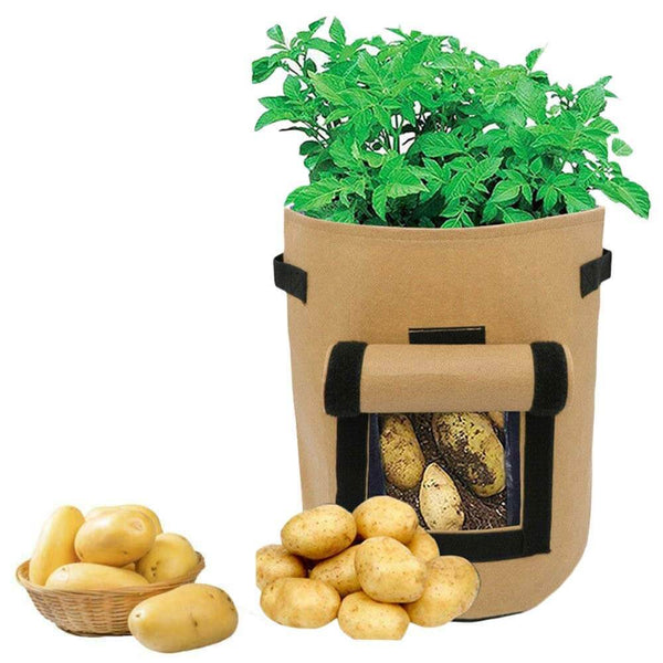 PlantPro™ Potato Grow Bag Khaki