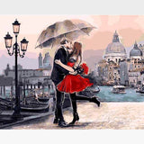 Romance In Venice Paint-By-Numbers Kit