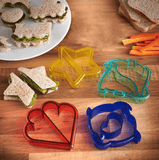 Lunch Punch Sandwich Cutter Set (9 Pcs)