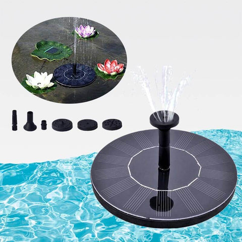 2019 Solar Water Fountain (Enhanced) Without Battery Backup