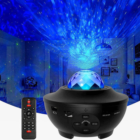 RelaxGlow™ Starry Sky Galaxy Projection Light