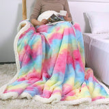 UniCuddle™ Luxury Soft Plush Shaggy Throw Blanket