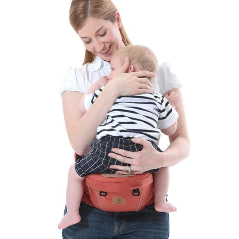 Baby Hip Seat Carrier Orange