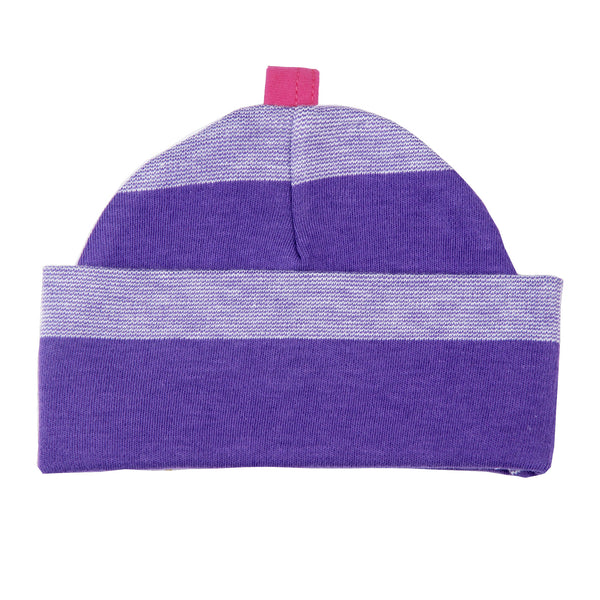 Pull On Hat Rugby Stripe
