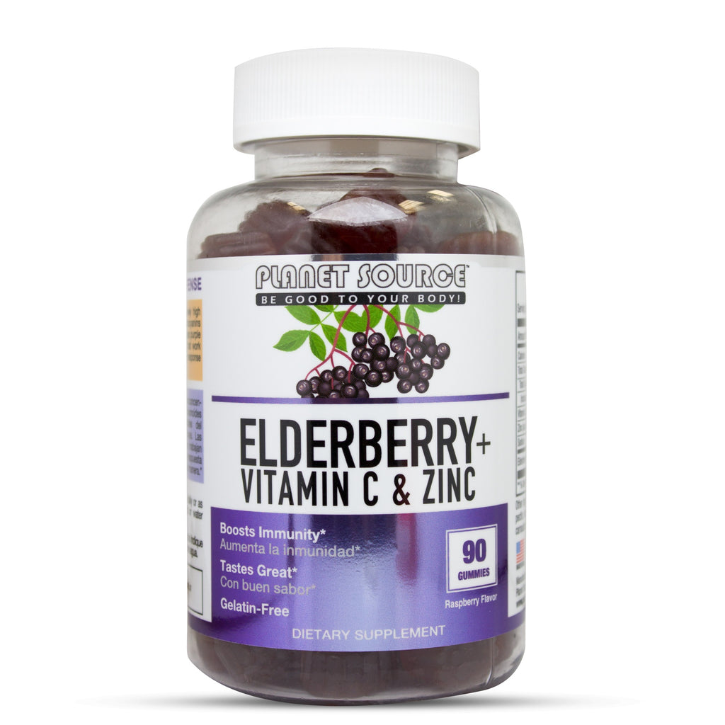 Elderberry + Vitamin C & Zinc