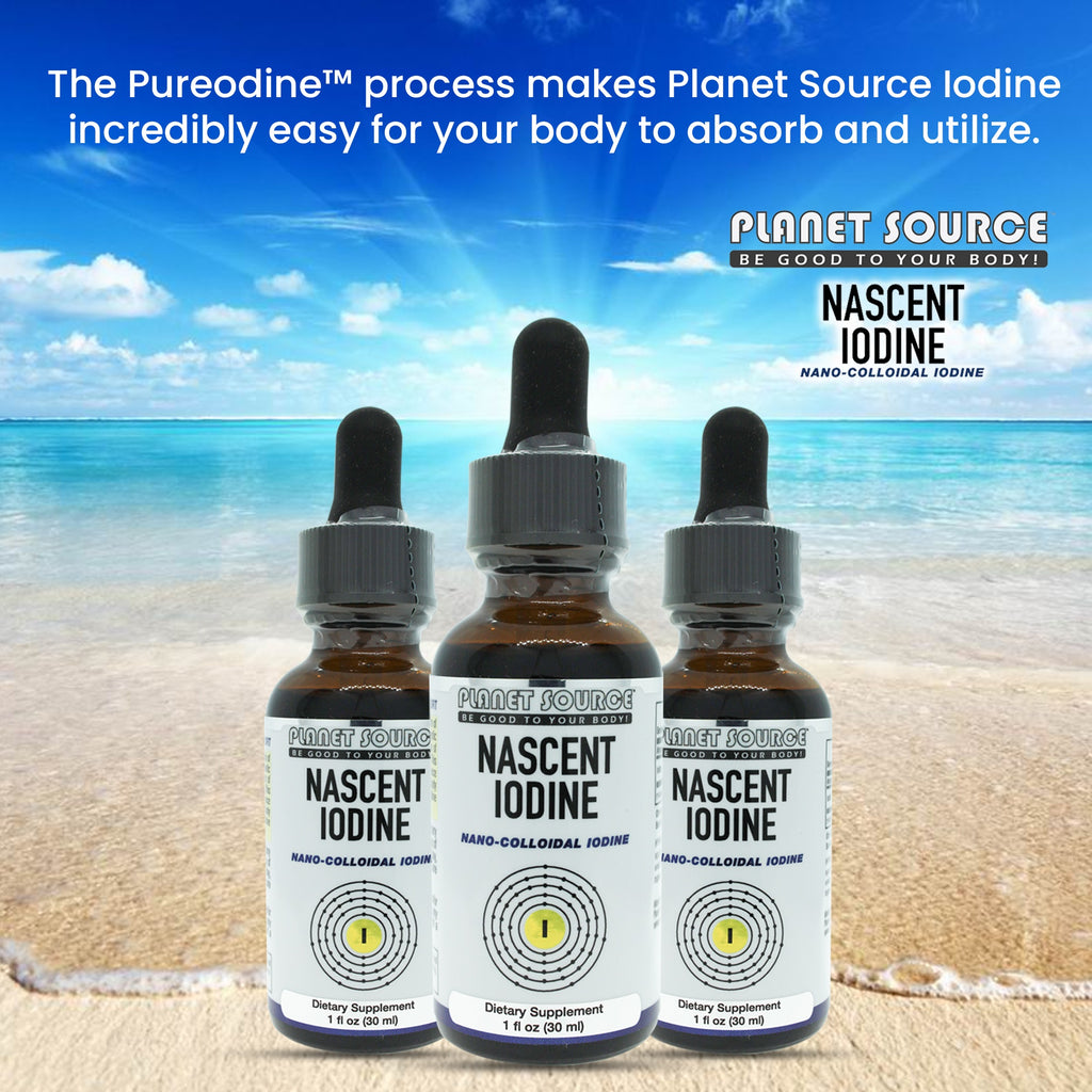 Nascent Iodine (nano-colloidal) 1 oz. - Planet Source