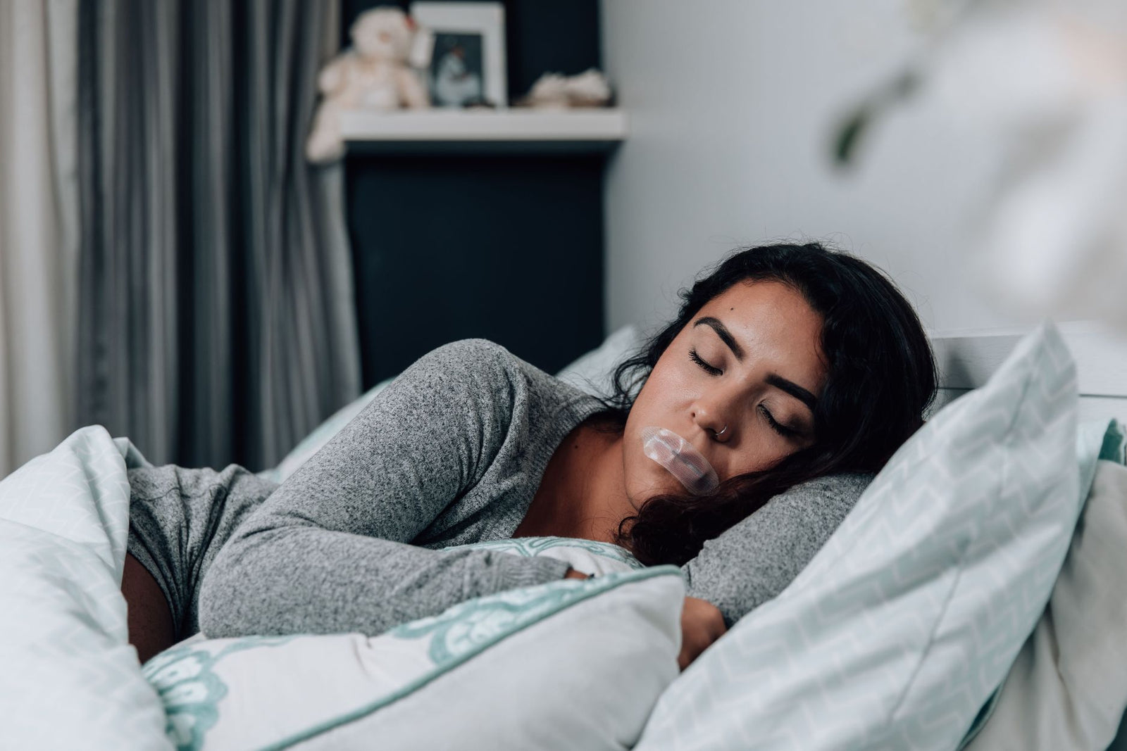 Turn woman sleeping to while a how on How do