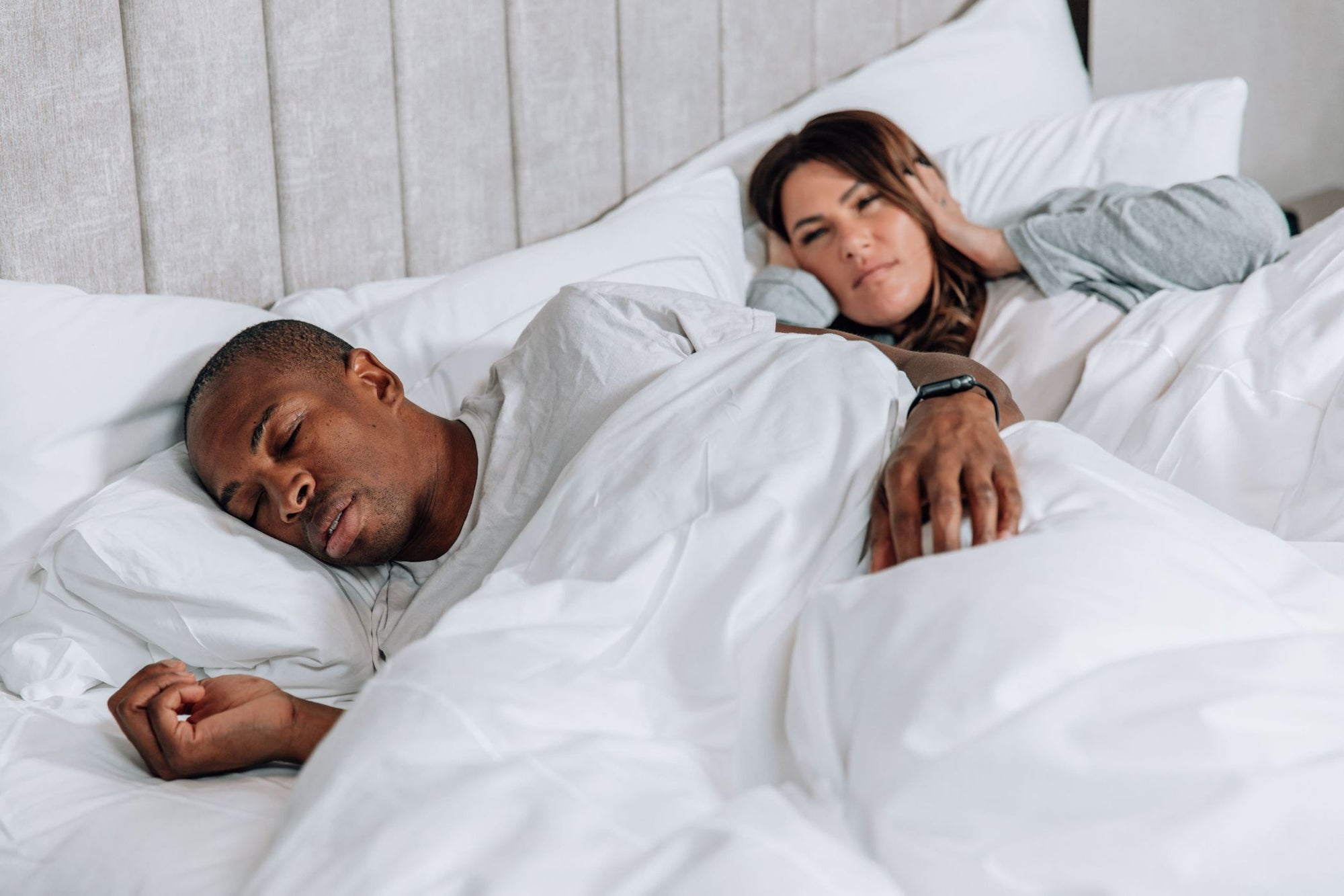 Can't sleep? What to Do if Your Partner Snores