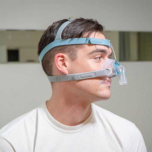 CPAP hack for overcoming mouth breathing