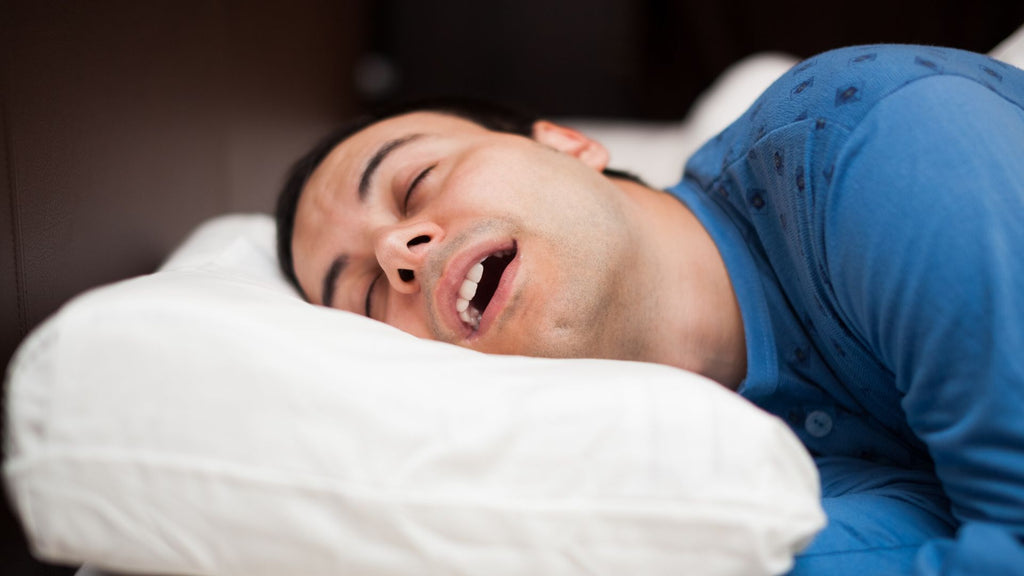 stop sleeping with mouth open