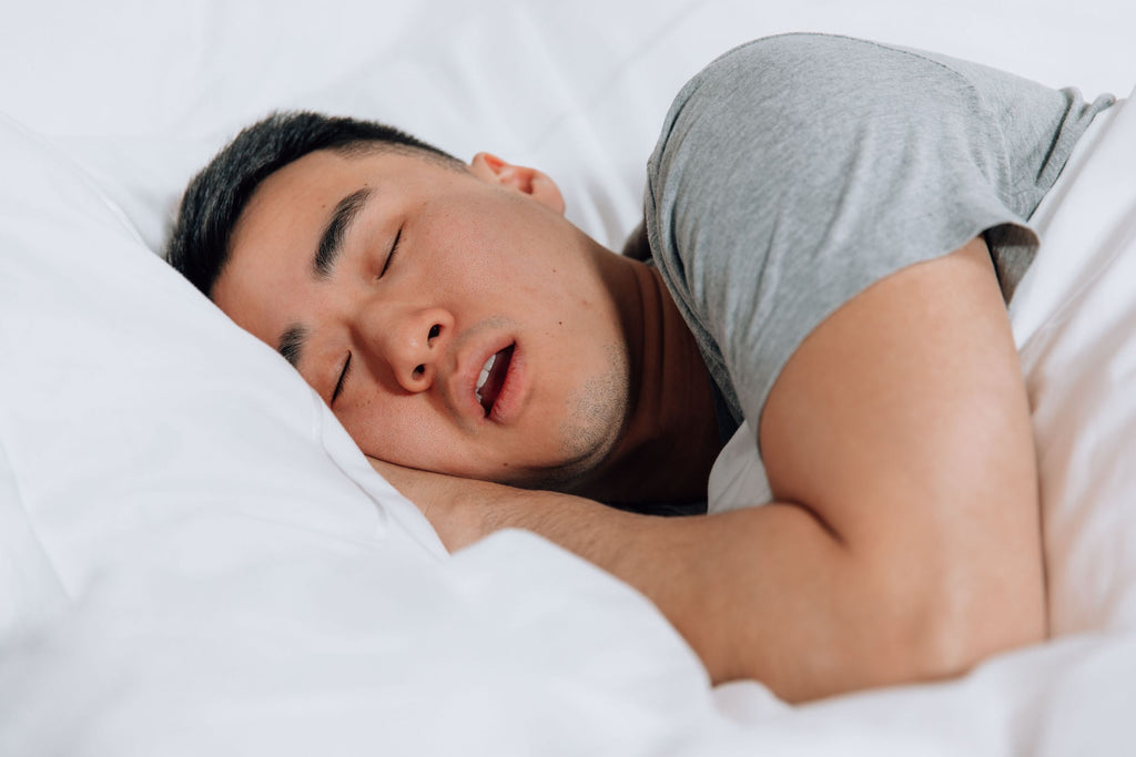 problems with mouth breathing at night