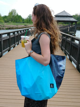 Basic Tote -  Upcycled Billboard - Coddiwomple Chic