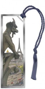 Gargoyle's View of Paris Bookmark - Coddiwomple Chic