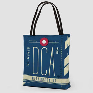 CDA Ronald Reagan Washington National Airport Tote - Coddiwomple Chic