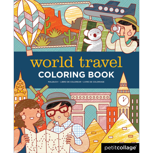 World Traveler Coloring Book - Coddiwomple Chic