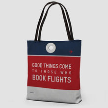 Good Things Come Tote - Coddiwomple Chic