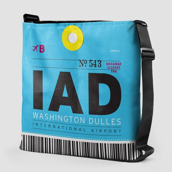 IAD Washington Dulles International Airport Tote - Coddiwomple Chic
