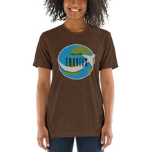 This Girl Travels Around the World Airplane Short sleeve t-shirt - Coddiwomple Chic