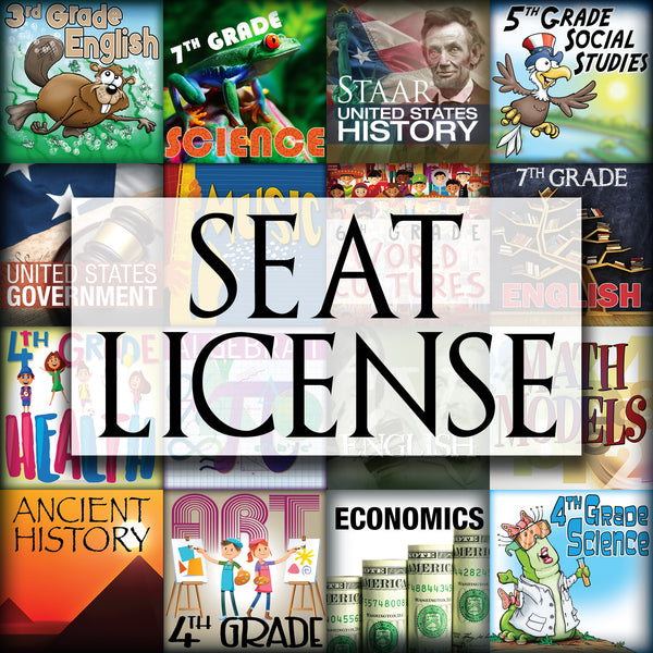 Online Digital Curriculum Annual Seat License