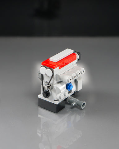 Red lego Honda B series B16 B18 engine model