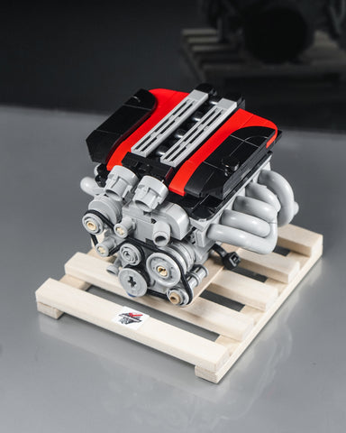Dodge SRT Viper V10 engine lego Model