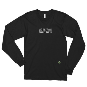 Workfrom Planet Earth Long Sleeve (Black)