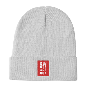Remote as F*ck Beanie