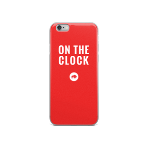 On the Clock iPhone Case