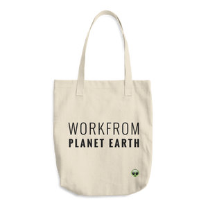 Workfrom Planet Earth Tote Bag