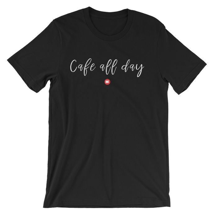 Cafe All Day Tee
