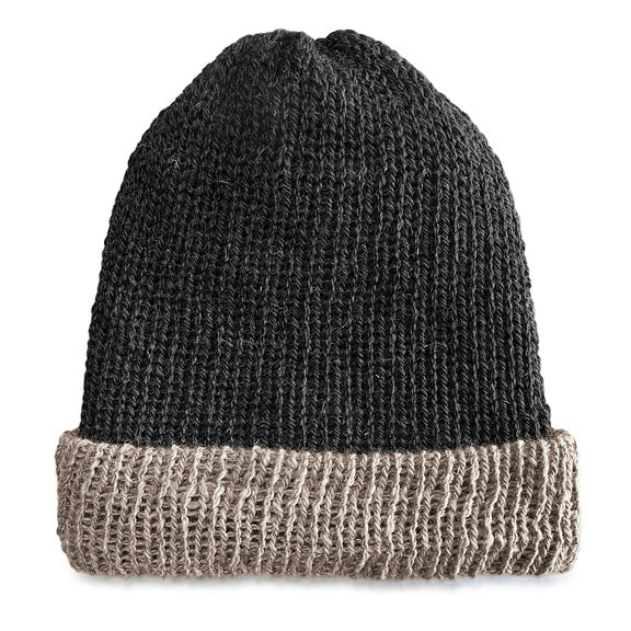 Dark Gray-Light Fawn Brim Reversible