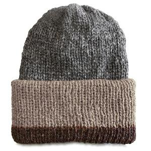 Silver Gray w/ Brown + Fawn Brim