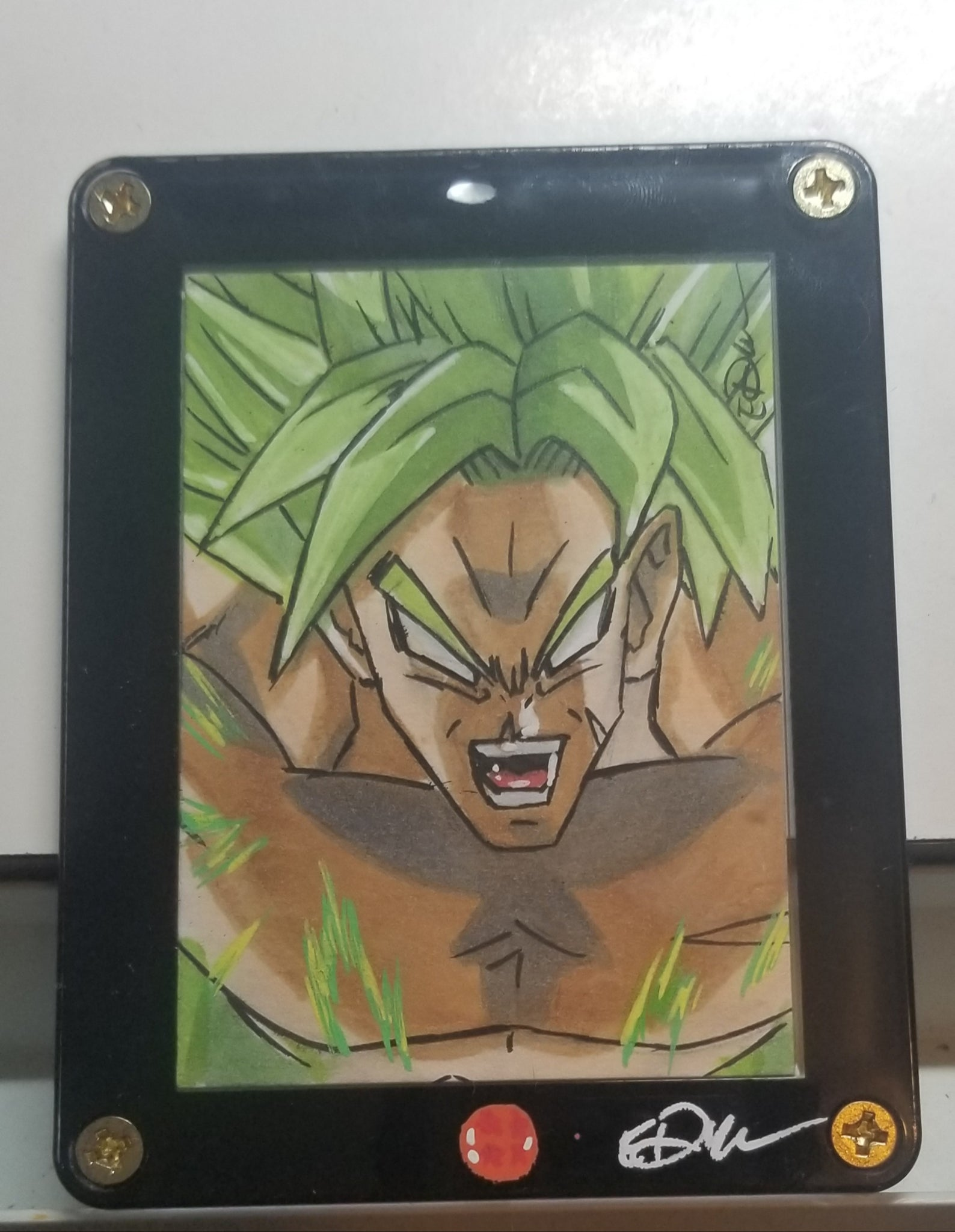 Framed Sketch Card (1 Card)