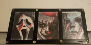 Framed Sketch Card (3 Cards)