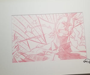 Original Art (All Might Sketch)