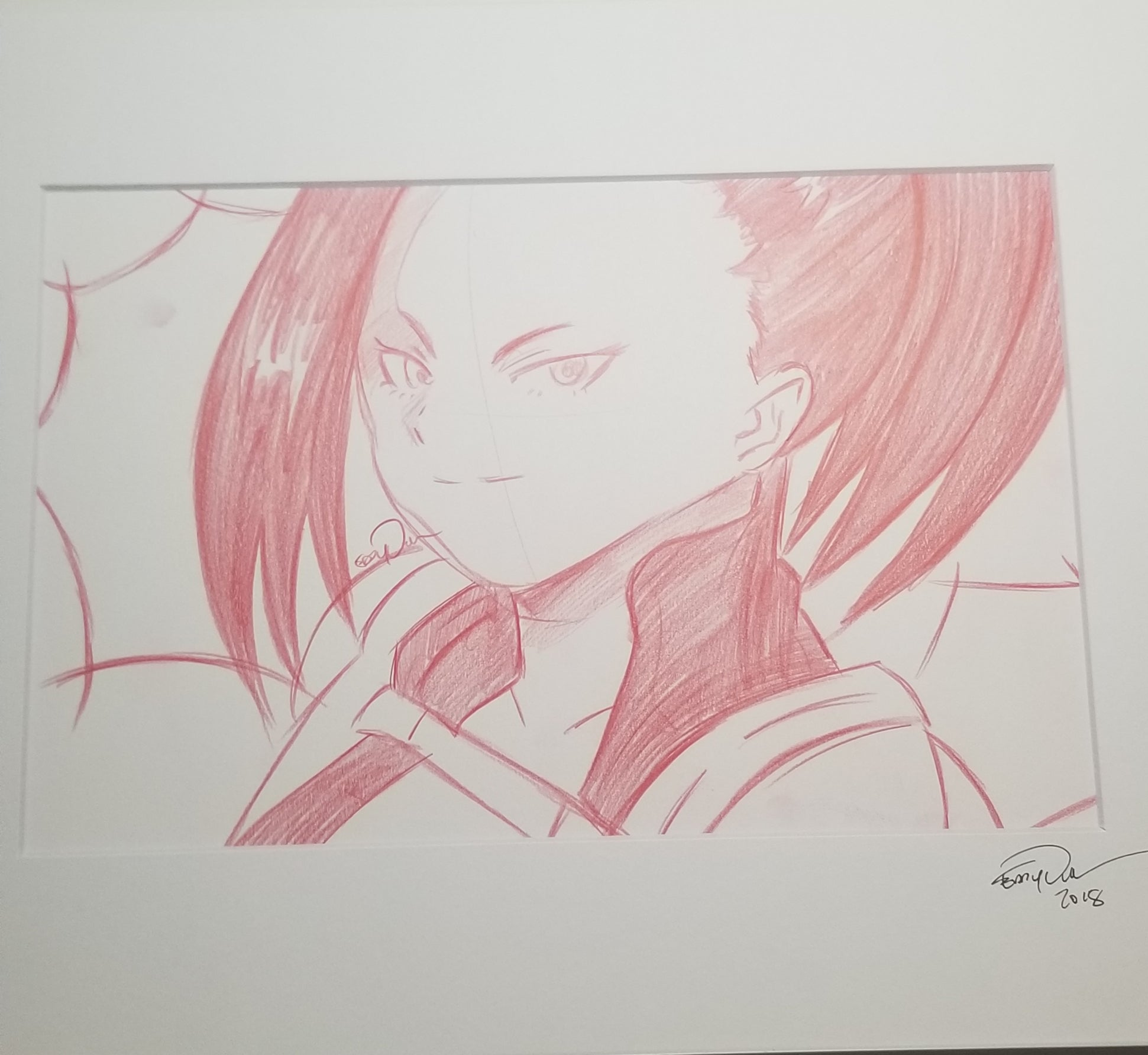 Original Art (Yaoyurozu Sketch)