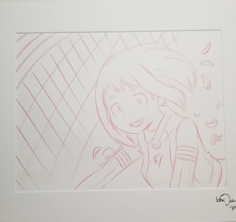 Original Art (Uraraka Sketch)